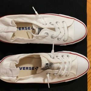 Converse Sneakers.  White.